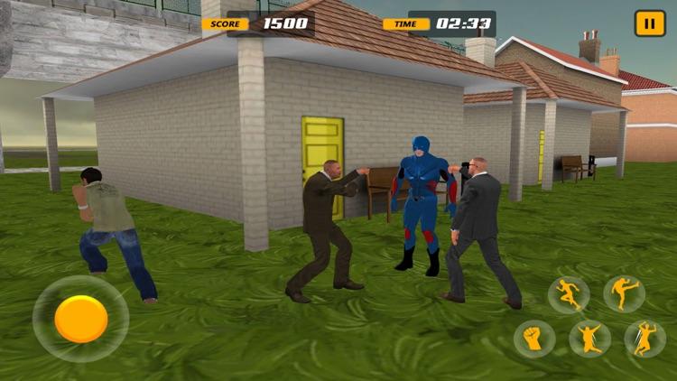 Super Hero Fighting City Mafia screenshot-4