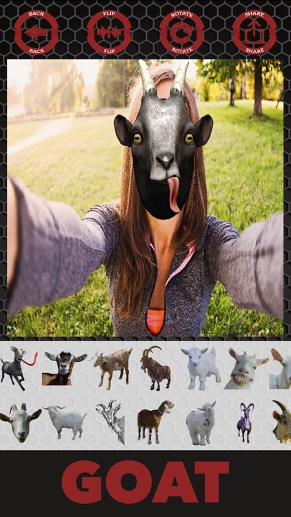 Goat stickers - photo editor goat stickers screenshot-4