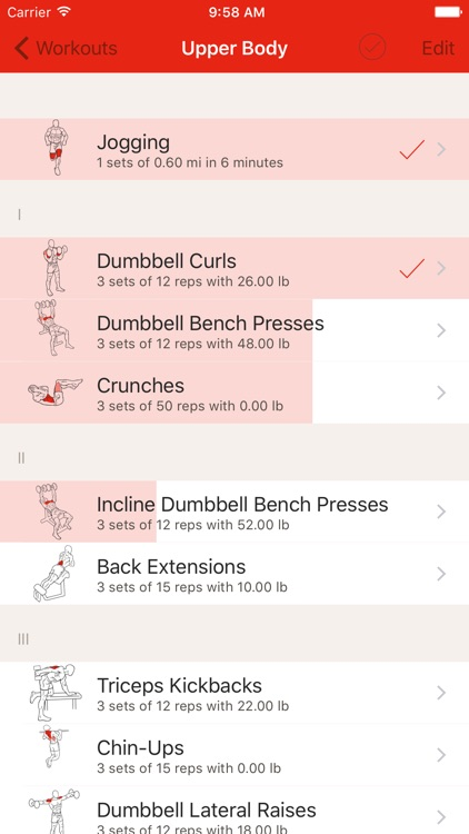 GymBook - Strength training