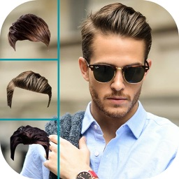 Men Hairstyle Changer - Man Hair Style Photo Booth