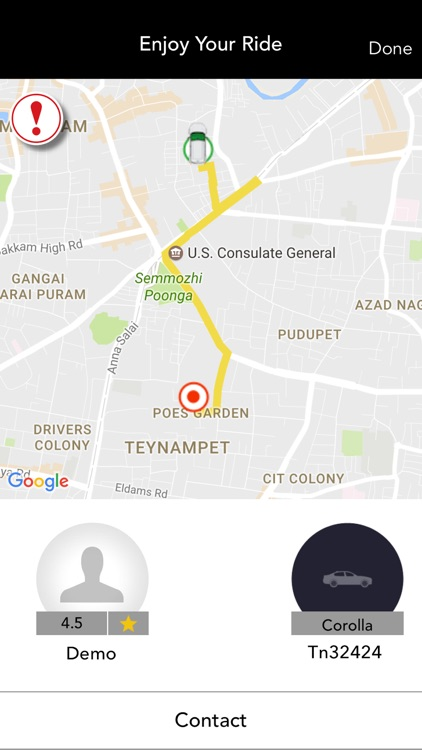 MyCab Pakistan - Online Cab Booking App by Creative Integrated