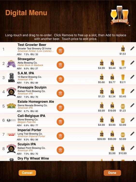 Beer Wizard Menu Connect screenshot-3