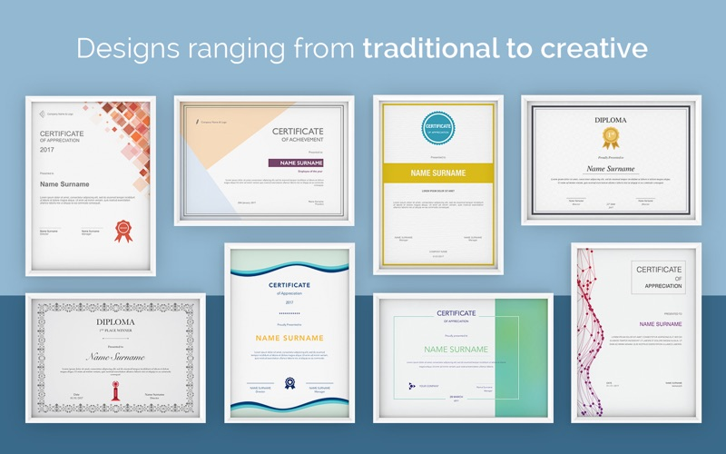 Certificate Templates For Pages Certificate Templates