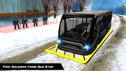 Army Training School Bus Transport Driver 3D Sim