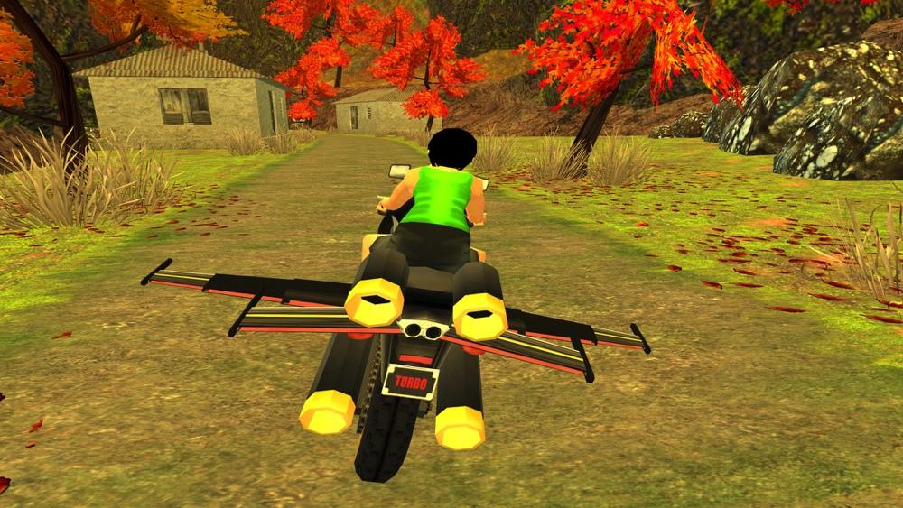 Flying Motorcycle Racing Simulator hack tool