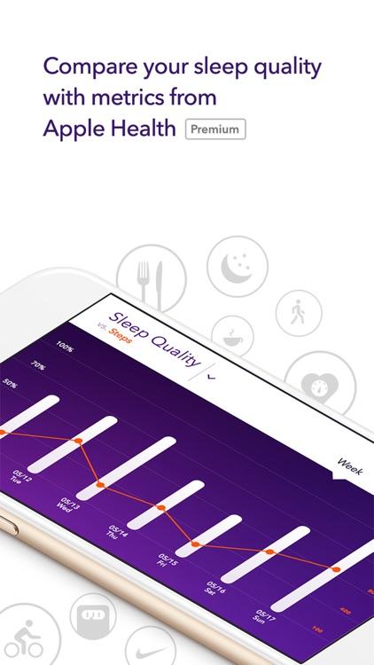 Pillow: Sleep tracking & analysis alarm clock screenshot-3