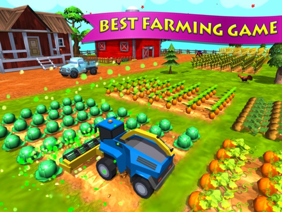 Plow Farming USA 2017 – Seed & Harvest Crops iOS Game