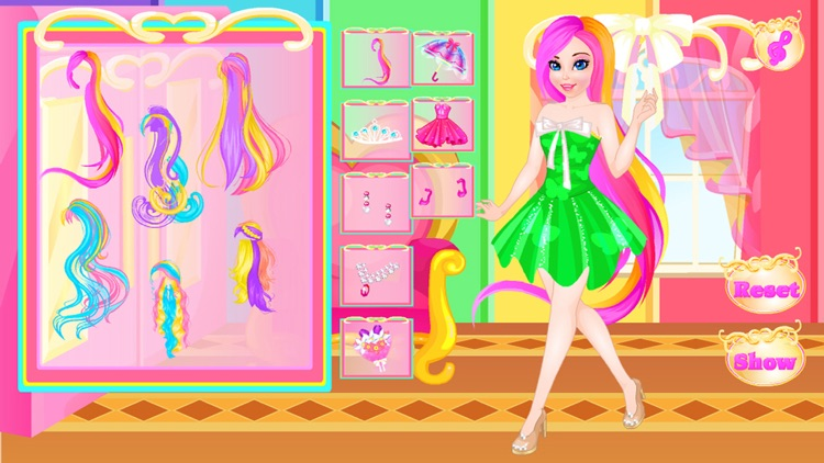 Pretty princess - baby games screenshot-3