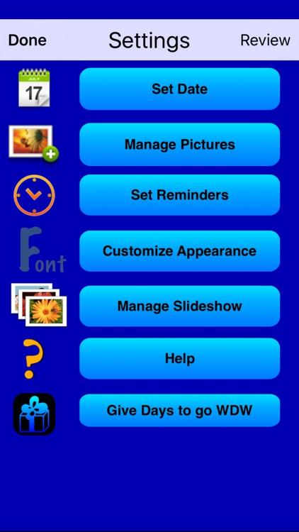 Days to go WDW II screenshot-4