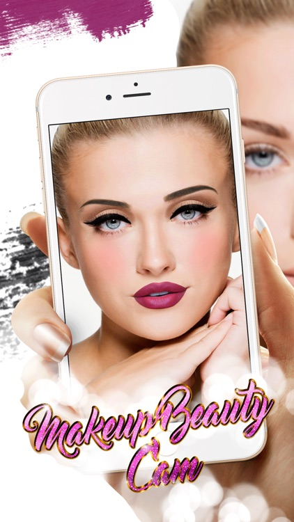 Makeup Beauty Cam & Selfie Photo Makeover Game Pro