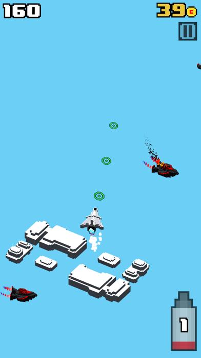 Crossy Wars - Endless Arcade Shooter screenshot three
