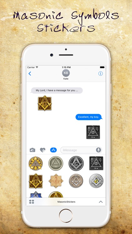 Masonic Symbols Stickers