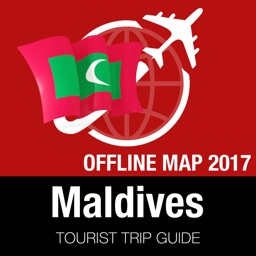 Maldives Tourist Guide + Offline Map