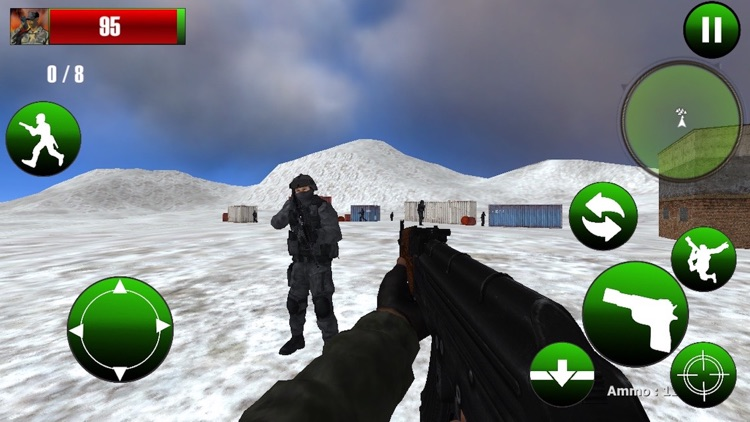 War of IGI Commando Frontline Mountain Attack 2 by HASSAN KHALID
