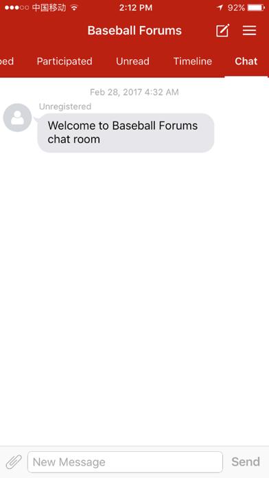 Baseball Forums screenshot 2
