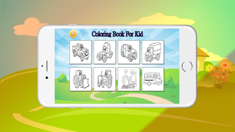 The Coloring Book For Kids screenshot-4