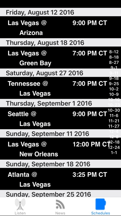Oakland Football - Radio, Scores & Schedule screenshot-3