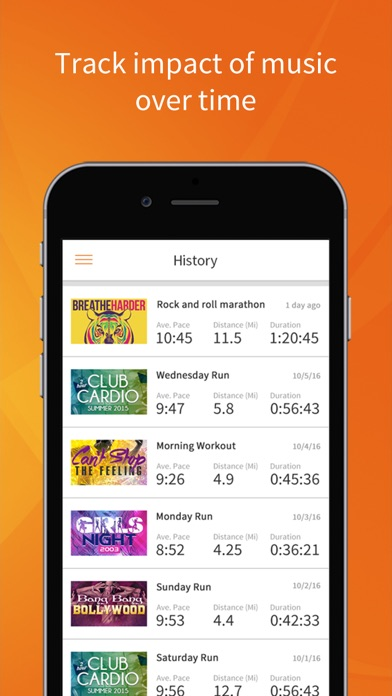 RockMyRun - Workout Music & Running Tracker app image