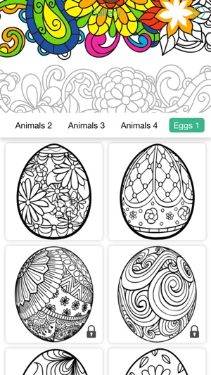 Mandala Coloring Calm Art Therapy Book For Adults On The App Store