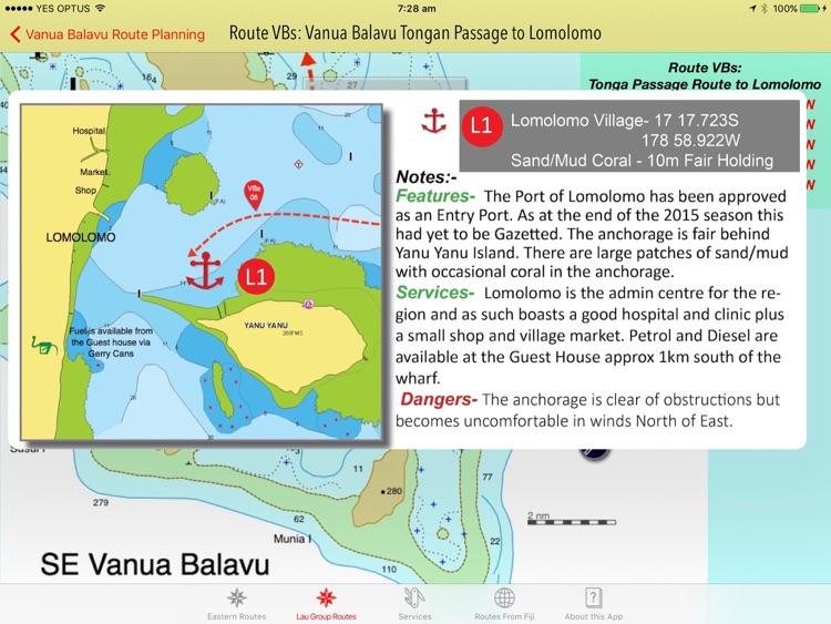 Sail Fiji Cruising Guide: Eastern screenshot-3