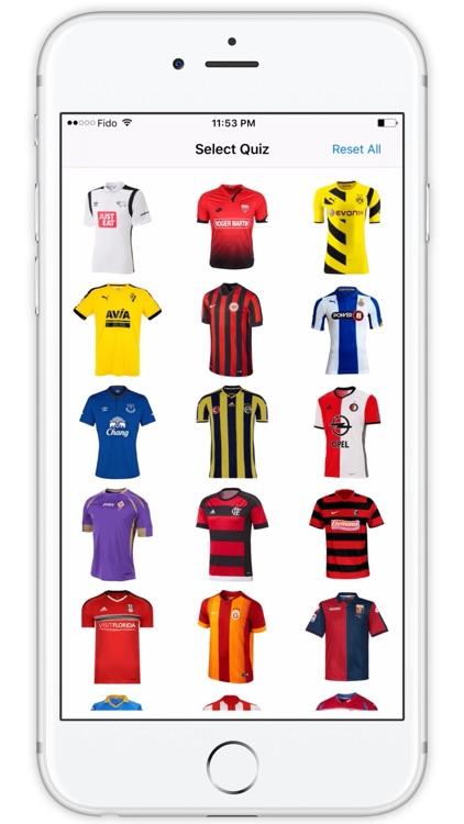 Football Shirts Quiz - Soccer Jersey Quiz Pro screenshot-3