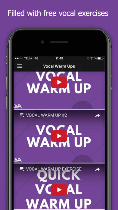 Vocal Exercises - Jacobs Vocal Academy screenshot one