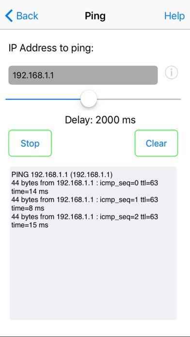 Network Ping Lite screenshot two