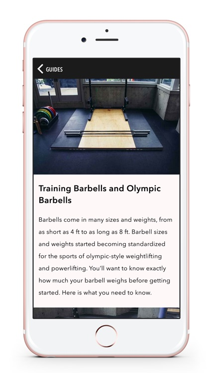 Spitfire Athlete Weight Lifting App & Workout Plan by
