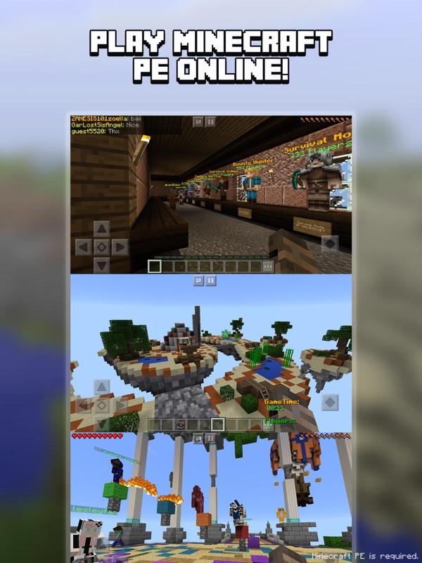 Multiplayer for Minecraft PE (Minecraft Online) - Online