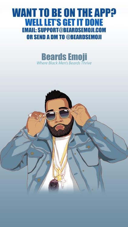 Beards Emoji - Premium Beard Emojis and Stickers screenshot-4