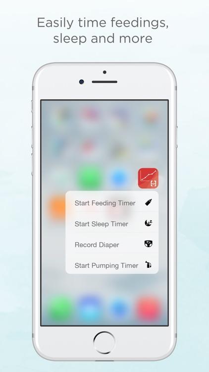 Hatch Baby - Track Feedings, Sleep, & Diapers screenshot-3