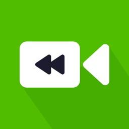 Video Reverse : Reverse cam & Video Rewind Motions