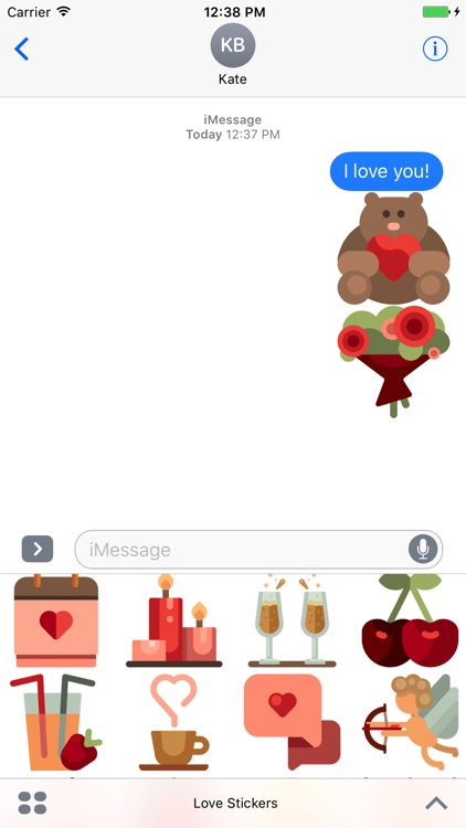 Love Stickers - Romance for Valentine's Day 2017