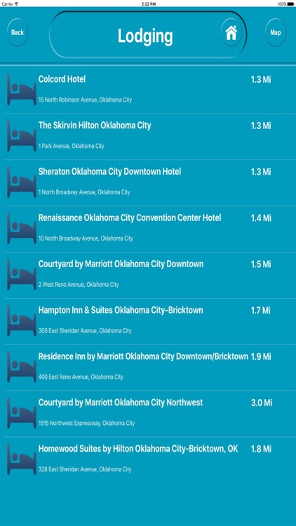 Oklahoma City Ok Offline City Maps with Navigation screenshot-3
