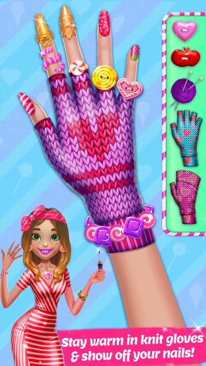 Candy Nail Art - Sweet Spa Fashion Game screenshot-4
