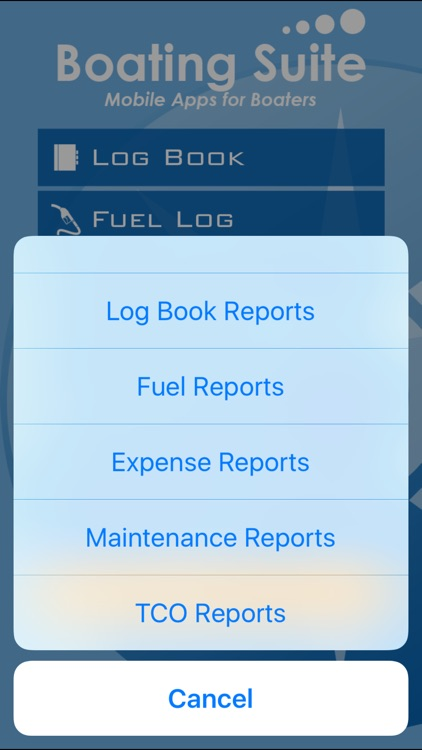Boating Suite: Complete Boating Log Book screenshot-4