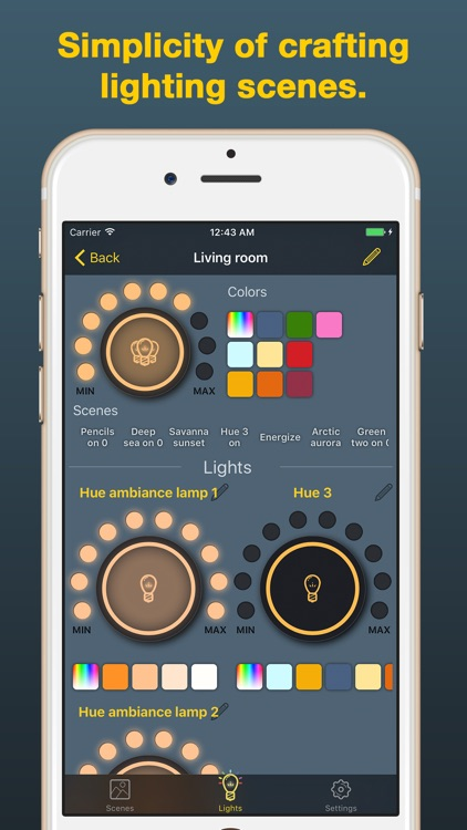 iHue for Philips Hue - easy control of light screenshot-4