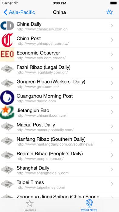World Newspapers review screenshots