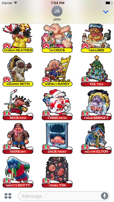 Garbage Pail Kids GPK Vol 2 Screenshot