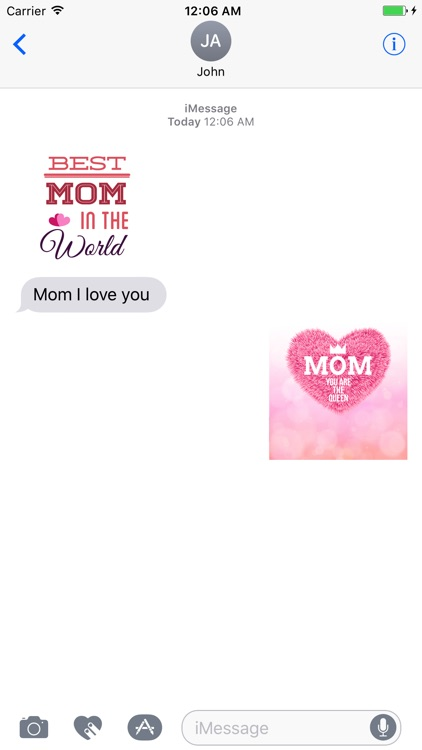 iStickerMania Mother's Day