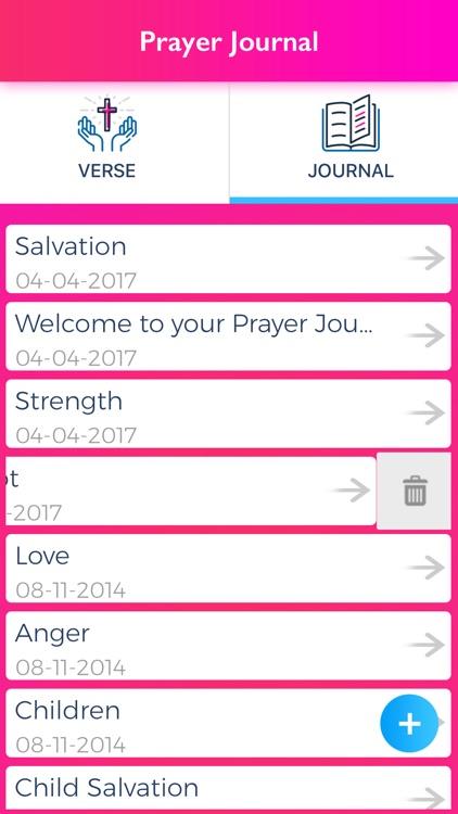 A Prayer Journal screenshot-3