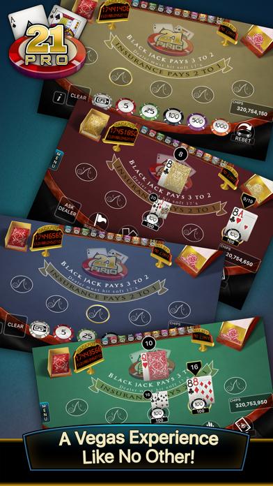21 Pro: Blackjack Multi-Hand screenshot one