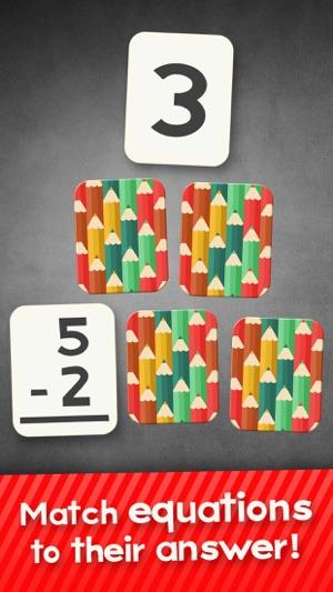 Subtraction Flash Cards Spiel Mathe-Spiele Für Screenshot