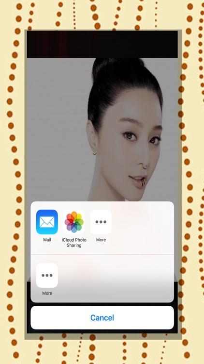 Girls Piercing-Virtual Pierced Designs Photo Booth screenshot-3
