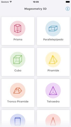 Mageometry 3d risolutore di geometria solida su app store for App per risolvere i problemi di geometria