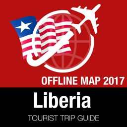 Liberia Tourist Guide + Offline Map