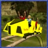 过山车骑模拟器和游乐场3d