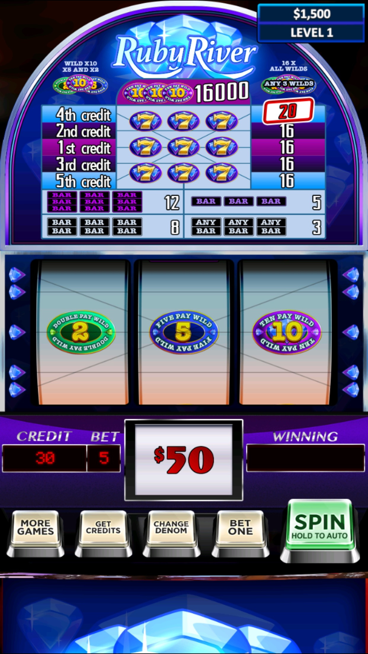 Real Vegas Slots Screenshot