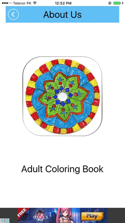 Adult Coloring Book for Stress Releaved