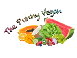 The Punny Vegan is a sticker app and a work of art